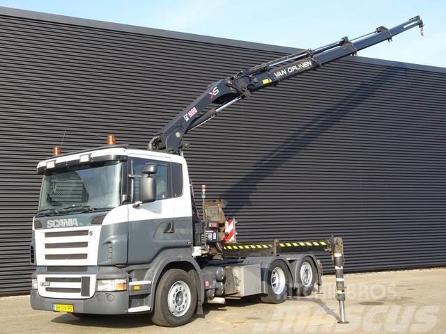 Scania R380 6x2 HIAB 288-4 CRANE / KRAN / GRUA