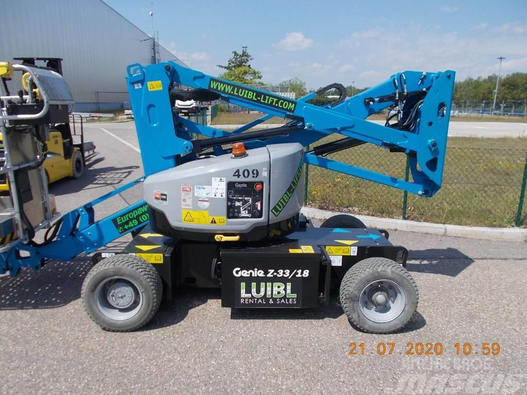 Genie Z33/18, with warranty