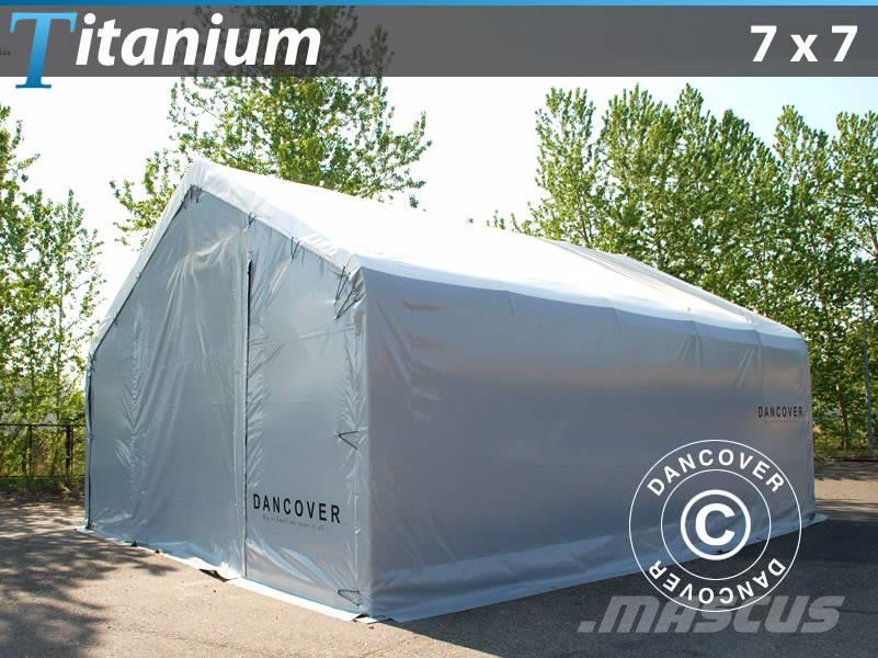 Dancover Storage Shelter 7x7x2,5x4,2m Lagertelt, 2017, Other tractor accessories