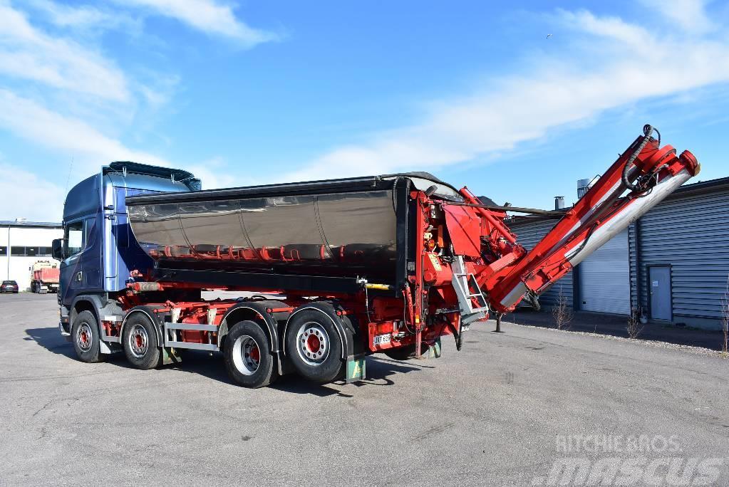 Scania R164 8x2