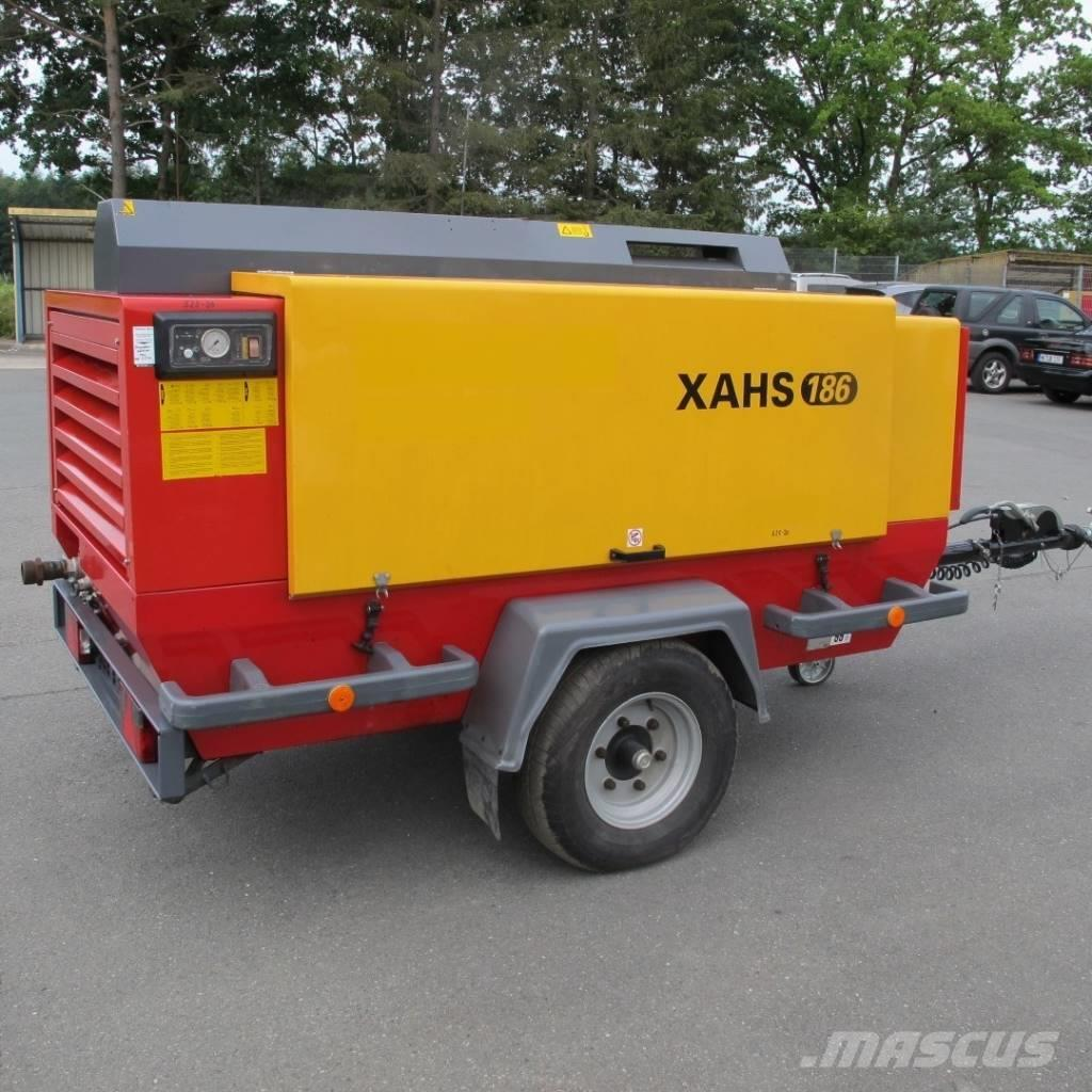 Atlas Copco XAHS 186 m.12 Bar Luftaufbereitung air treatment