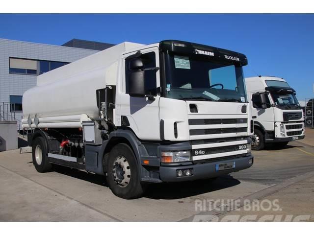 Scania 94D260 + TANK 15000 L (6 comp.)
