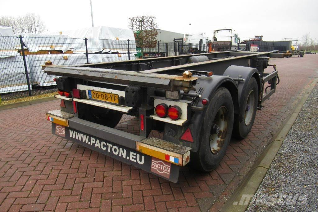 Krone Container Chassis / 20FT / BPW axles / Drum Brakes