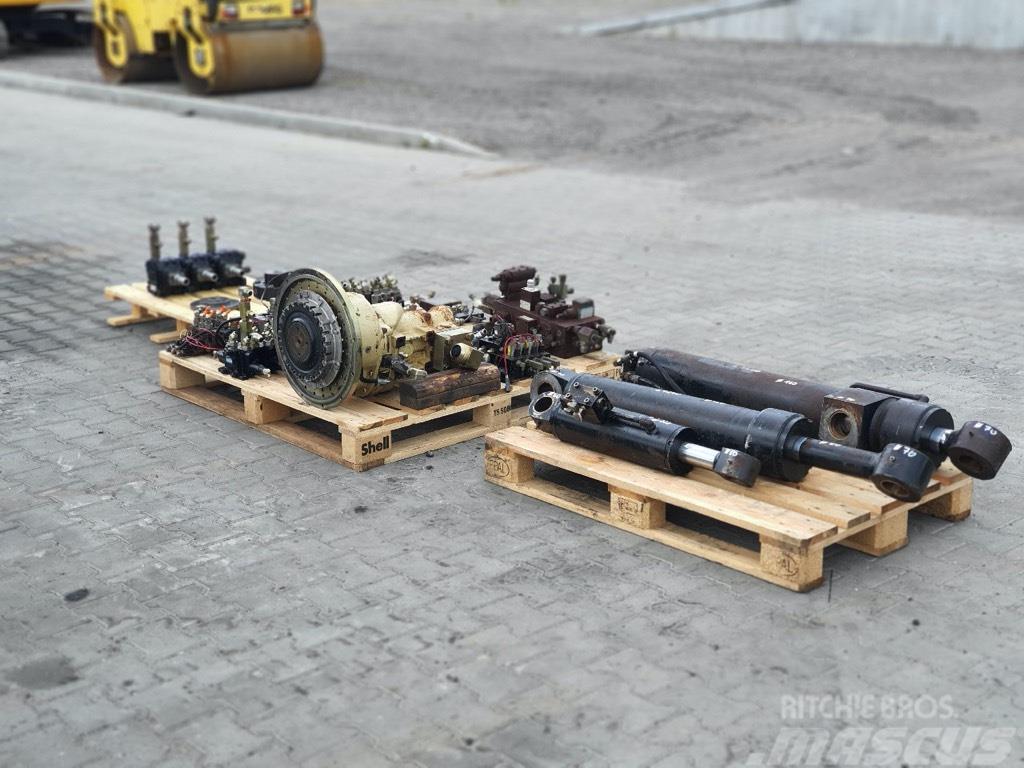 Atlas Copco ECM 585  hydraulic parts complet