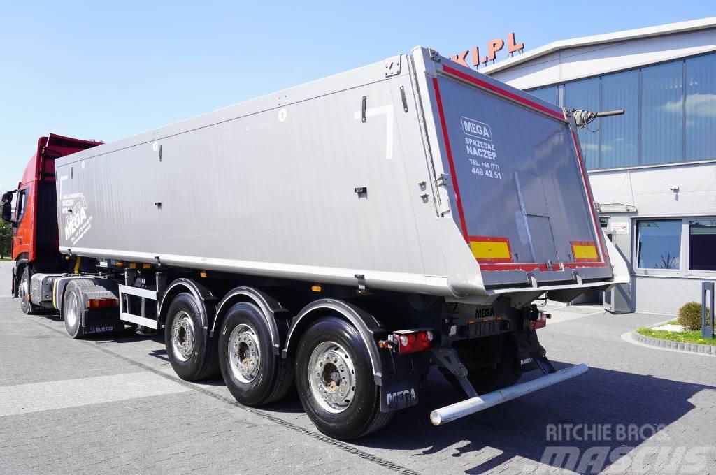 Mega MNL 35.5t , 35m3 , ALU , lift axle