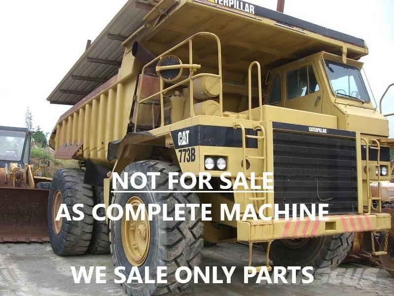 Caterpillar DUMPER 773B ONLY FOR PARTS