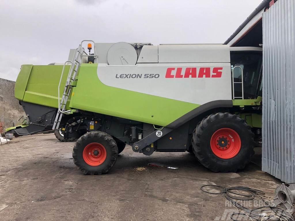 CLAAS Lexion 550 Heder Vario