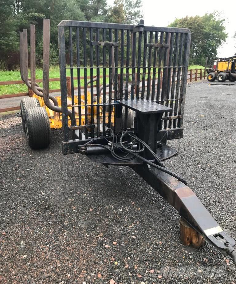 Moheda 9T Forestry Trailer