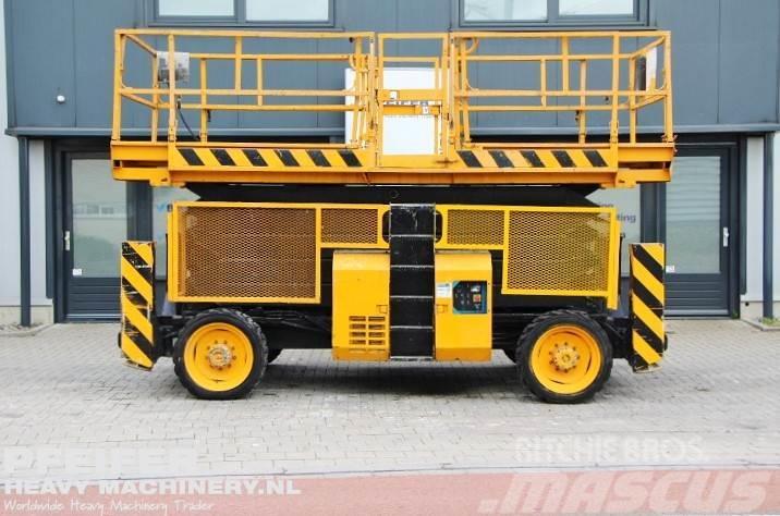 Genie GS5390RT Diesel, 4x4 Drive, 18.15m Working Height.