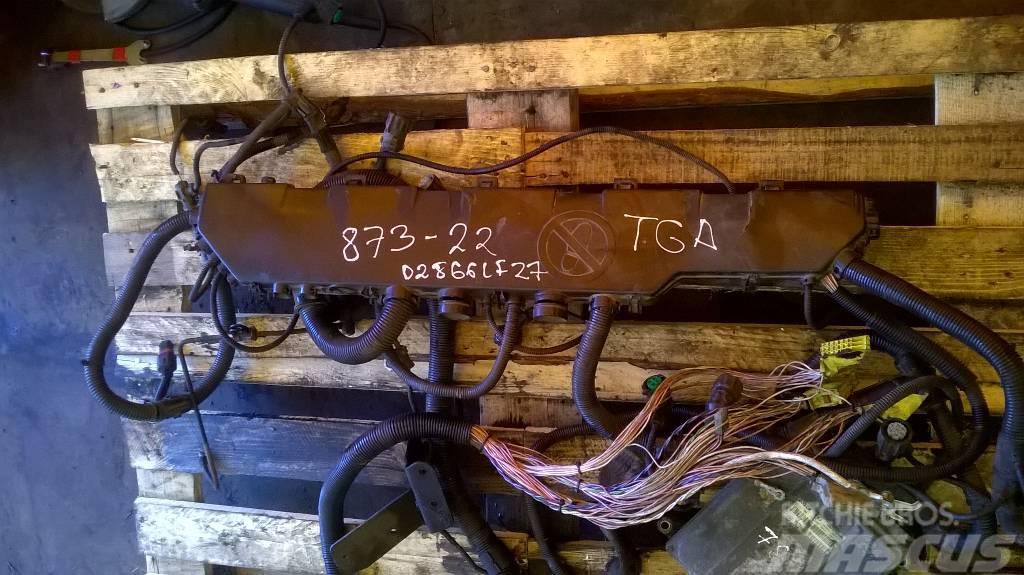MAN TGA wiring