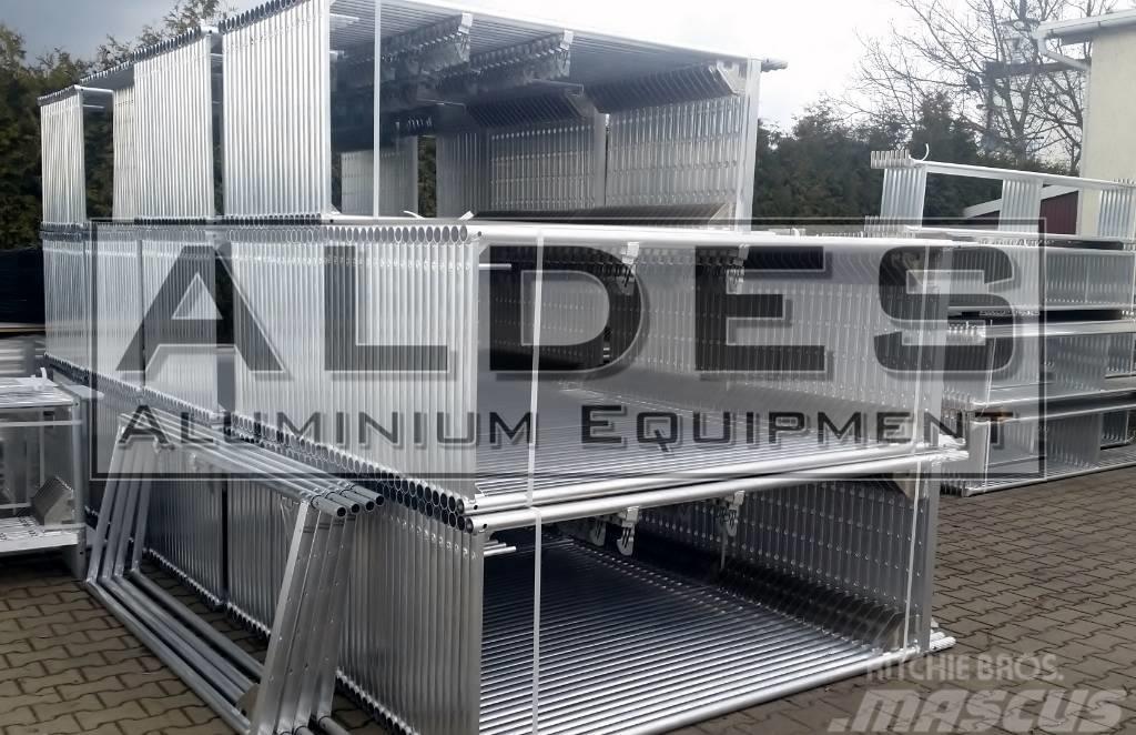 [Other] New ALUMINIUM scaffolding Layher type RAM1 500m2 b
