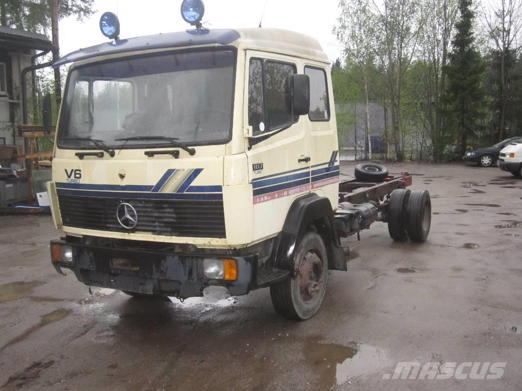 Used mercedes benz 1117 other trucks year 1986 price for Used mercedes benz trucks for sale in germany