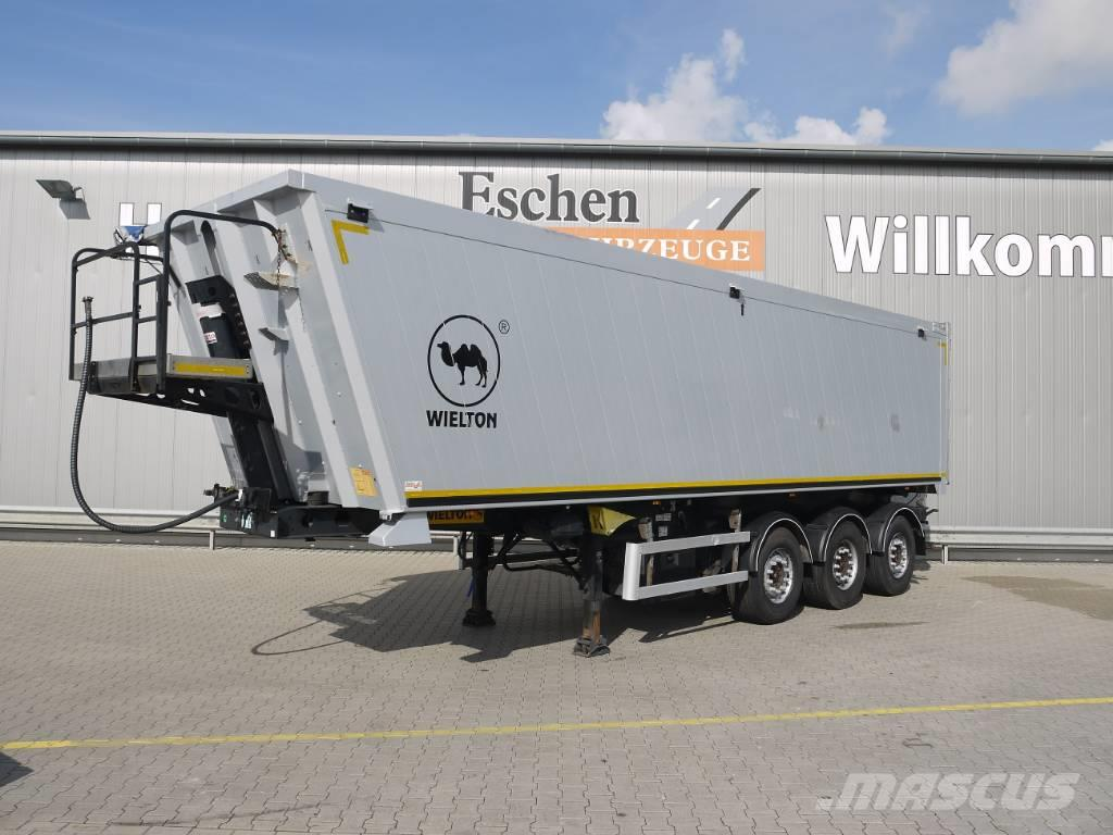 Wielton NW 3, 45m³ Aluminiummulde, Luft/Lift