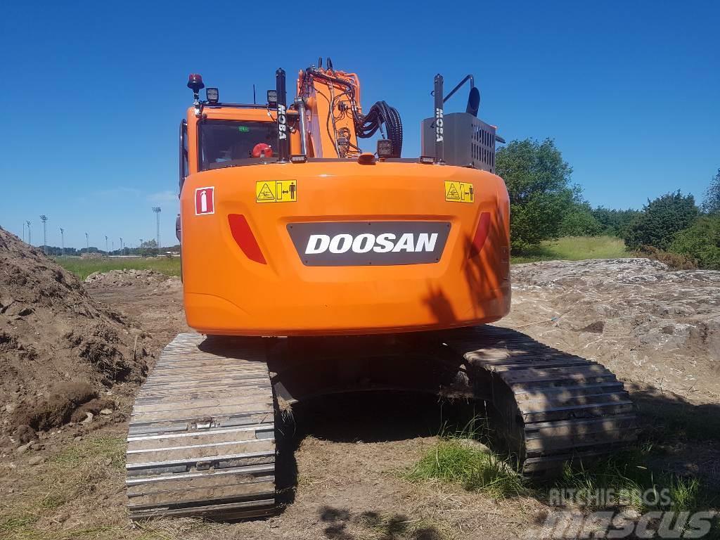 Doosan DX 235 LCR-5, Uthyres