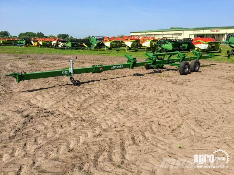 [Other] AGROPARK NEW FF12T tandem axle trolley for 8,4 m F