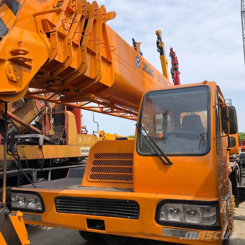XCMG QY50B-I  50t truck crane