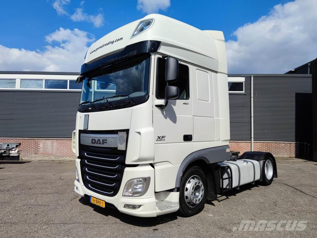 DAF FT XF 460 4x2 SuperSpaceCab - Euro6 - Double Fuel