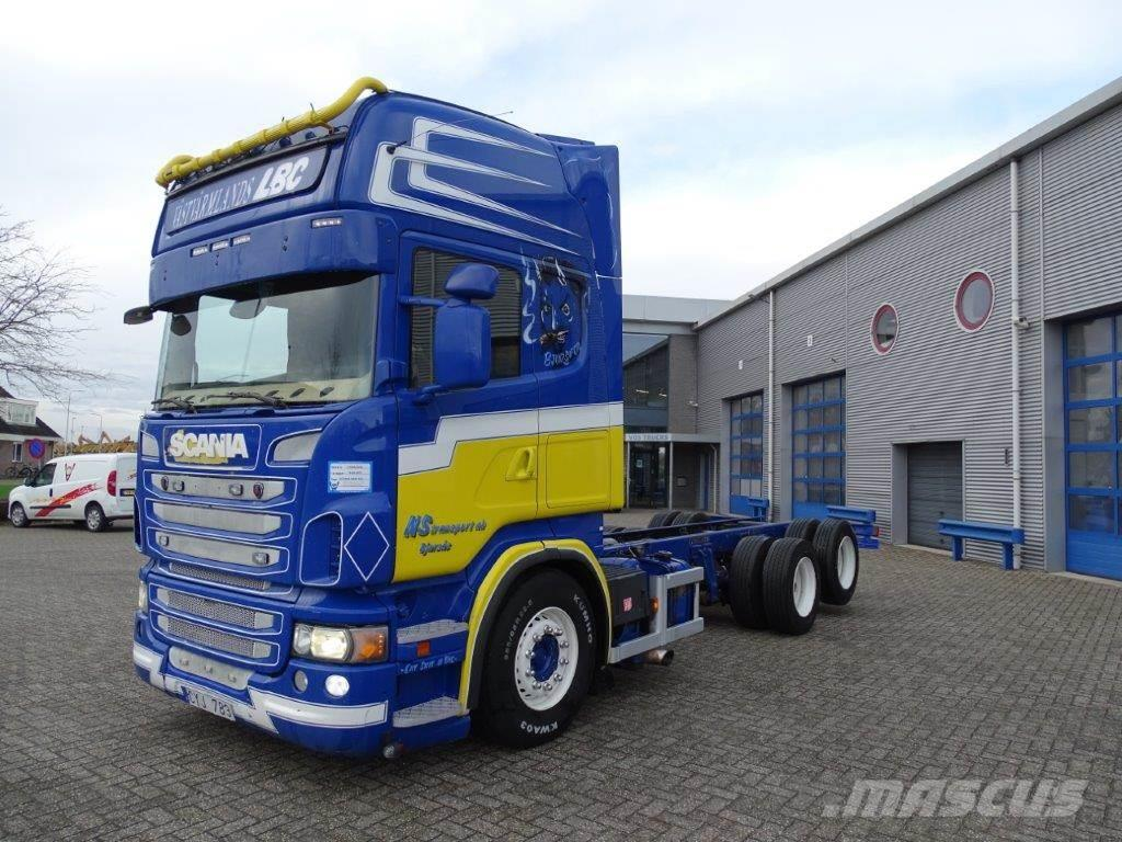 Scania R620 / TOPLINE / 10-WHEELS / MANUAL / RETARDER / 2