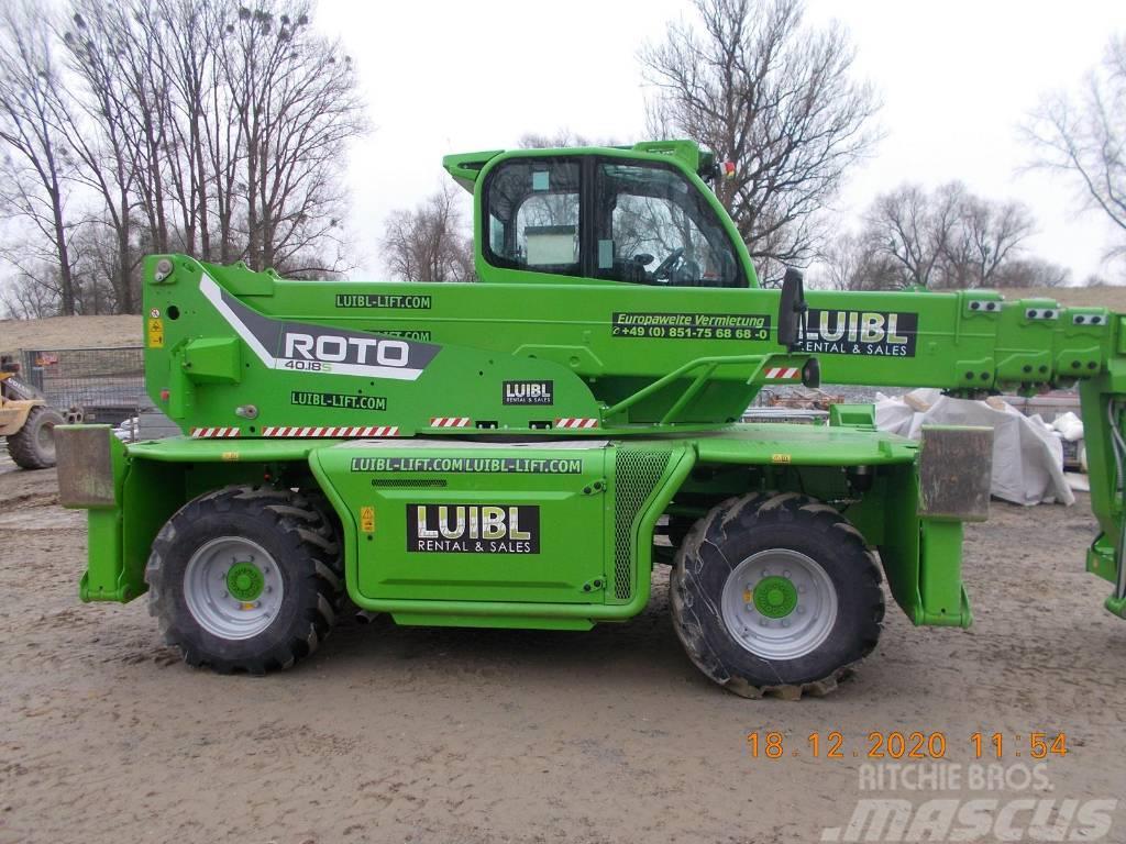 Merlo Roto 40.18S, 18m 4 ton new model, low hours