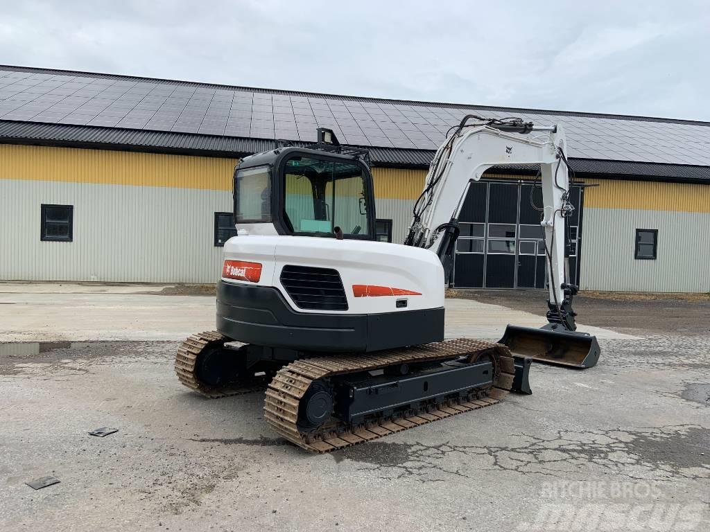 Bobcat E85 grävmaskin, stållarver