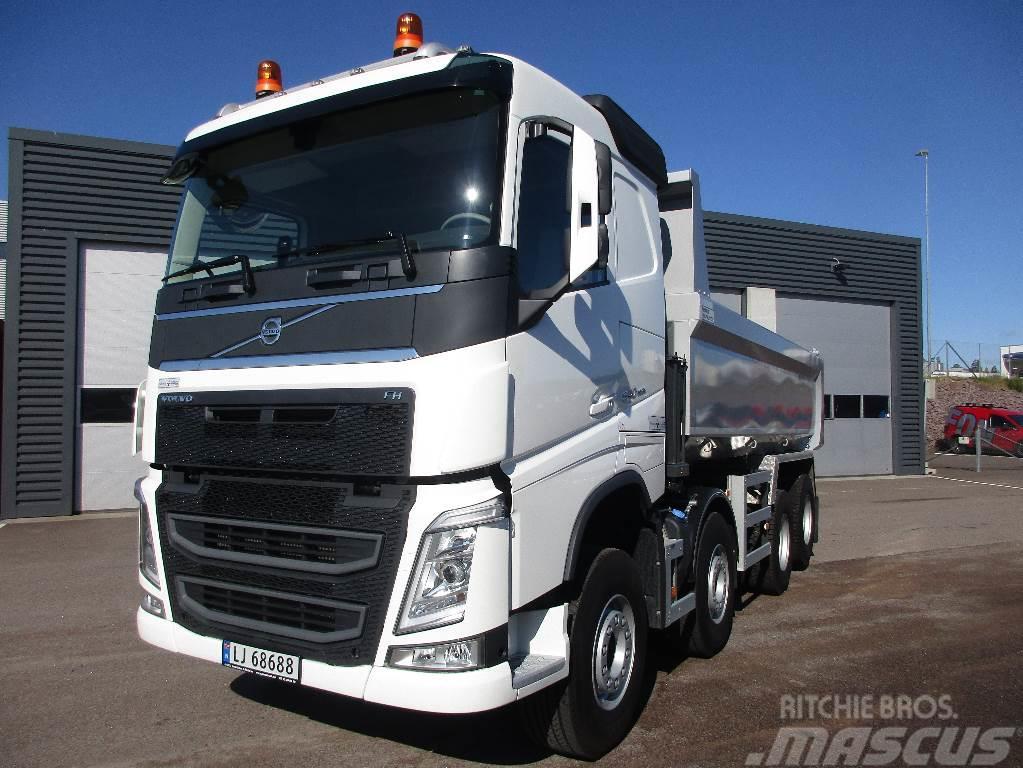 Volvo FH540 8x4 VDS, akselløft og krypgir