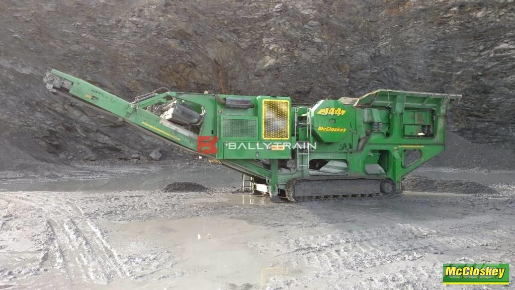 McCloskey J44 Jaw Crusher (2014) £130,000GBP