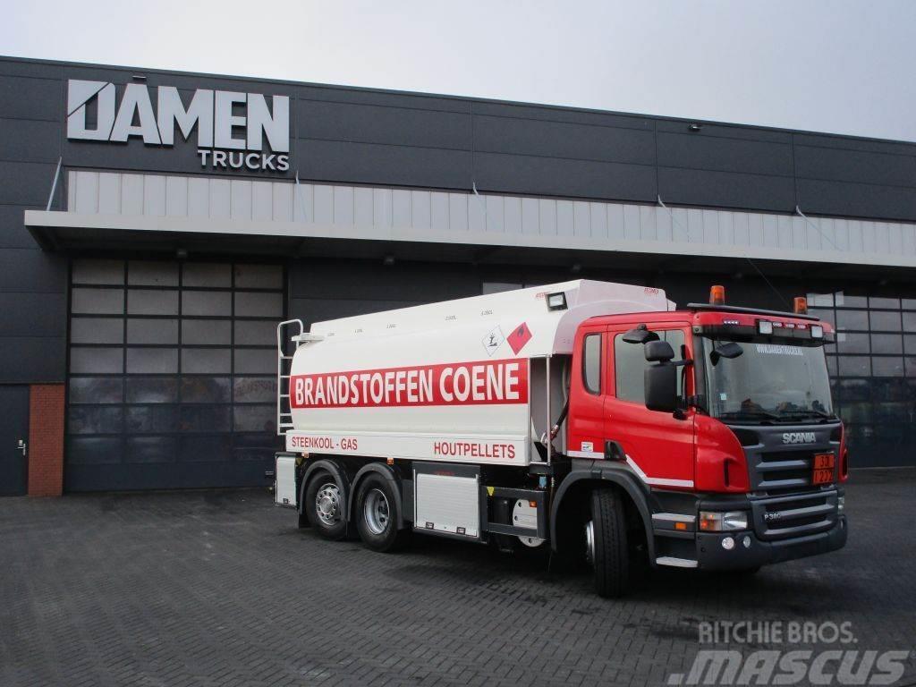 Scania P 380 6x2 ATCOMEX 19000 Liter Feultanker