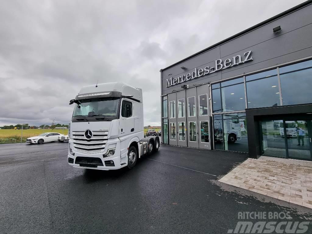 Mercedes-Benz Actros V 2553 Ls 6x2 Boogie