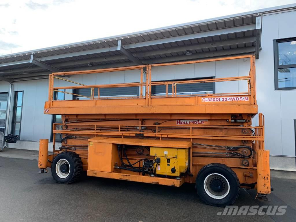 Holland Lift Megastar G-320DL30 4WDS/N 34m diesel scissor lift
