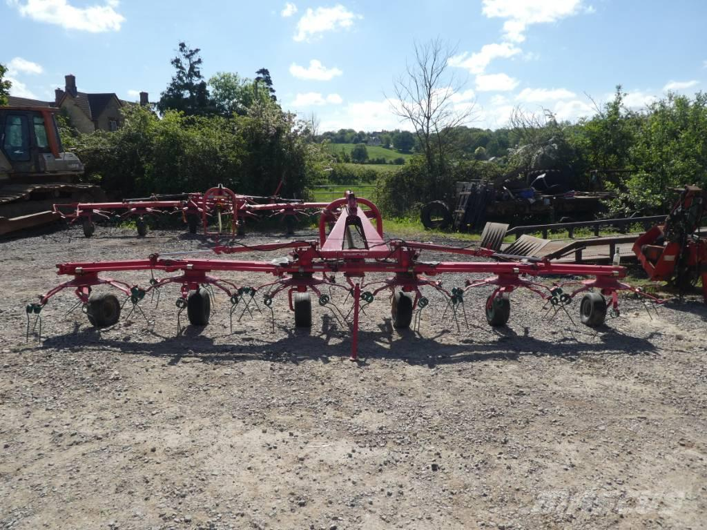 Kverneland 6 rotor tedder
