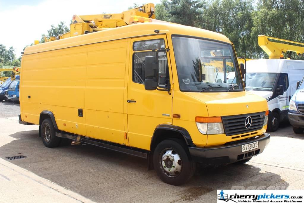 used mercedes benz vario 816 d 46nf versalift 17 metre access platf truck mounted aerial. Black Bedroom Furniture Sets. Home Design Ideas