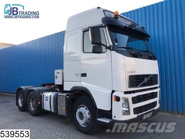 Volvo FH13 520 6x4, Airco, Hydraulic, Hub reduction, eur