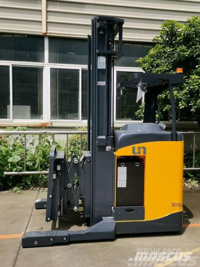 UN Forklift FBRS15 1.5T Double Reach Truck ZAPI 6000mm