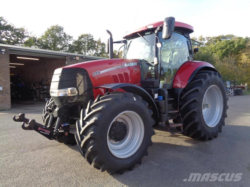 Case IH Puma 215_tractors Year of Mnftr: 2014  Pre Owned Tractors