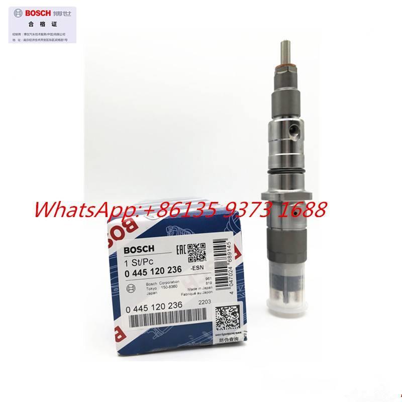 Cummins Qsl8.9 Fuel Injector 0445120236 5263308, 4940170,