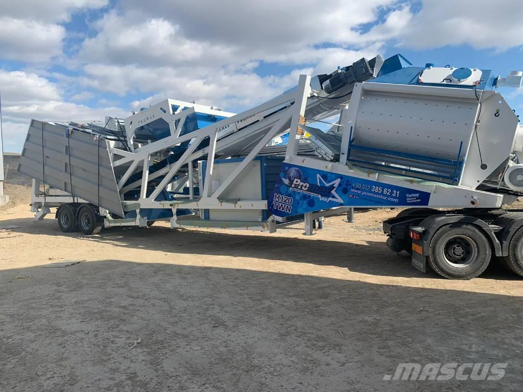 [Other] PROMAX MOBILE CONCRETE BATCHING PLANT M120-TWN(120