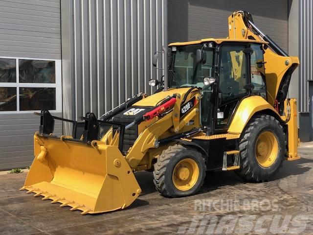 Caterpillar 428F2 4x4 Backhoe Loader 823 hours only!!