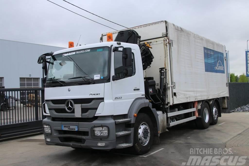 Mercedes-Benz AXOR 2533 6X2-MP3+HIAB 144 DUO+Remote Control