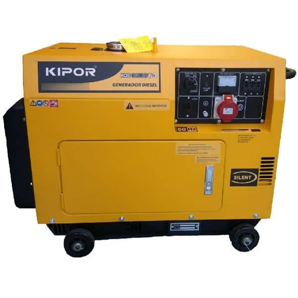 Kipor KDE6500T3 400V diesel aggregaatti/generaattori Q05