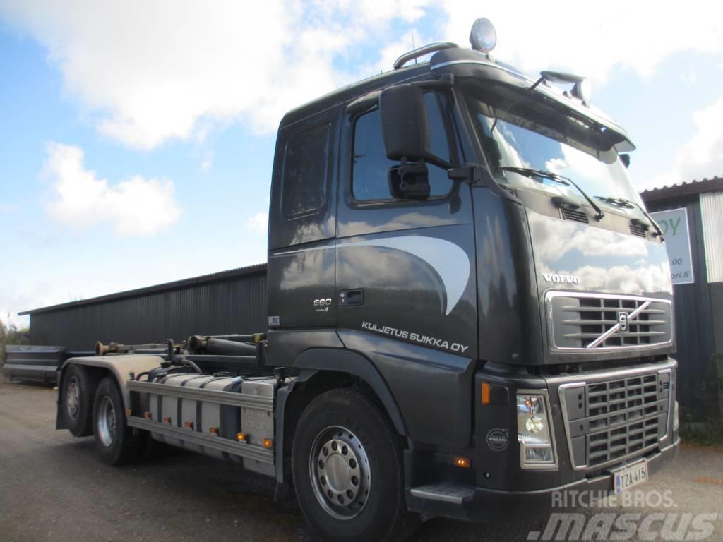 Volvo FH16 660 av4300mm koukkulaite