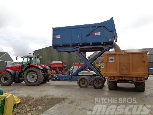 Marston 12 tonne hi-lift trailer
