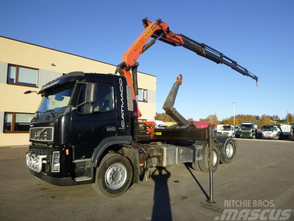 Volvo FM340 6x2+PALFINGER PK16502+PALIFT