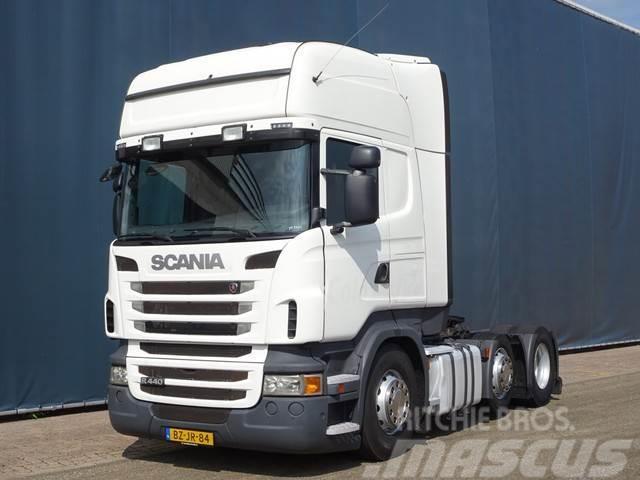 Scania R440 6x2 / EURO 5 / TOPLINE / RETARDER