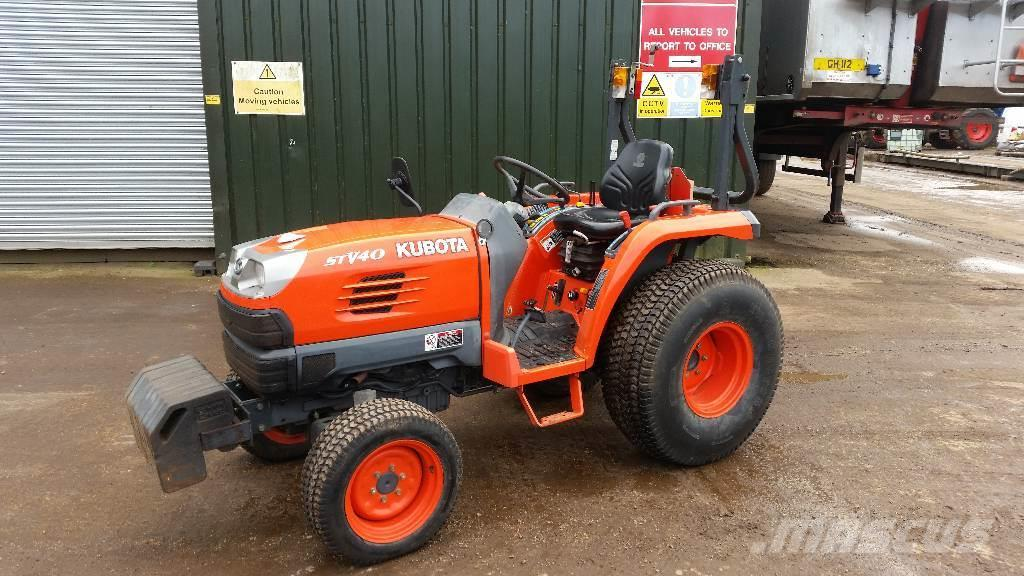 Used Compact Tractor : Used kubota stv hst compact tractor tractors year