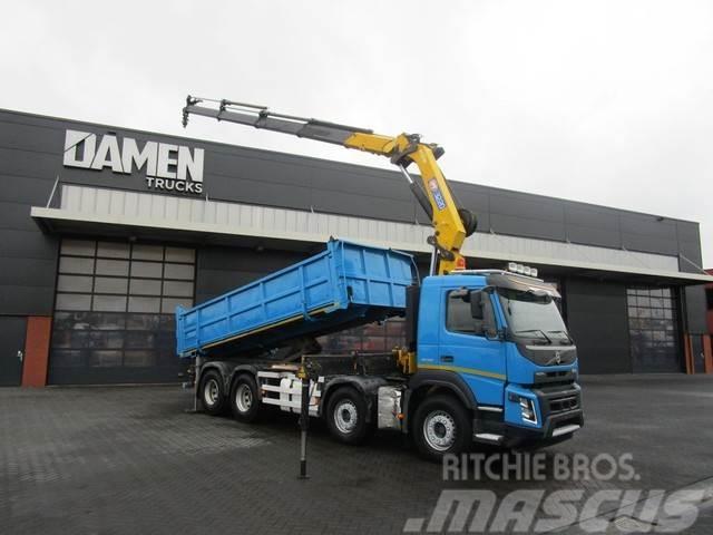 Volvo FMX 500 8x4 Euro 5