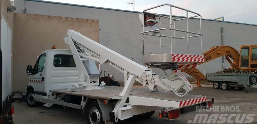 Renault VT48NE *16.5m* Renault Master truck-lifter
