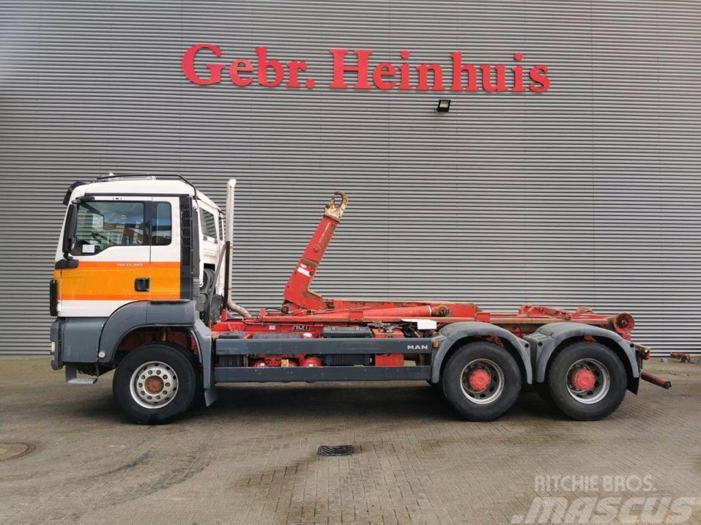 MAN TGS 33.480 6x4 26 Tons Hooklift!