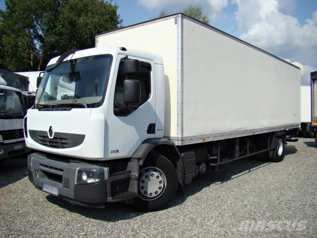 Renault Premium 280.19 DXI Box 21 Pallets Koffer Lift LBW