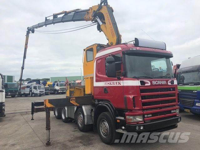 Scania 164G-480 WITH FASSI F1000XP + FLY JIB + WINCH AND