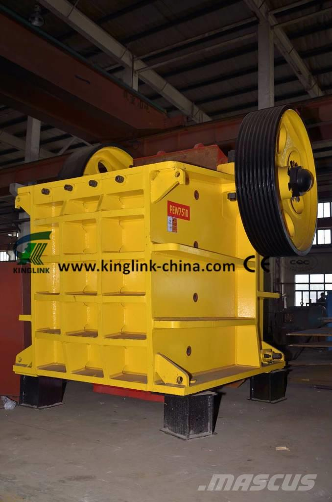 Kinglink PEV-1050x750 Hydraulic Jaw Crusher